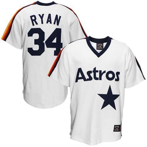hot sale online 10d21 27de1 top quality mitchell and ness astros 34 nolan ryan ...